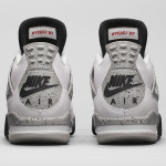 "Air Jordan 4 ""White/Cement"""