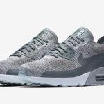 Sneakers Nike Air Max 90 Ultra 2.0 Flyknit v platinové barvě