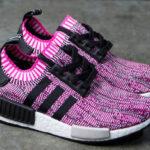 Dámské Adidas NMD_R1 W Primeknit v růžové barvě
