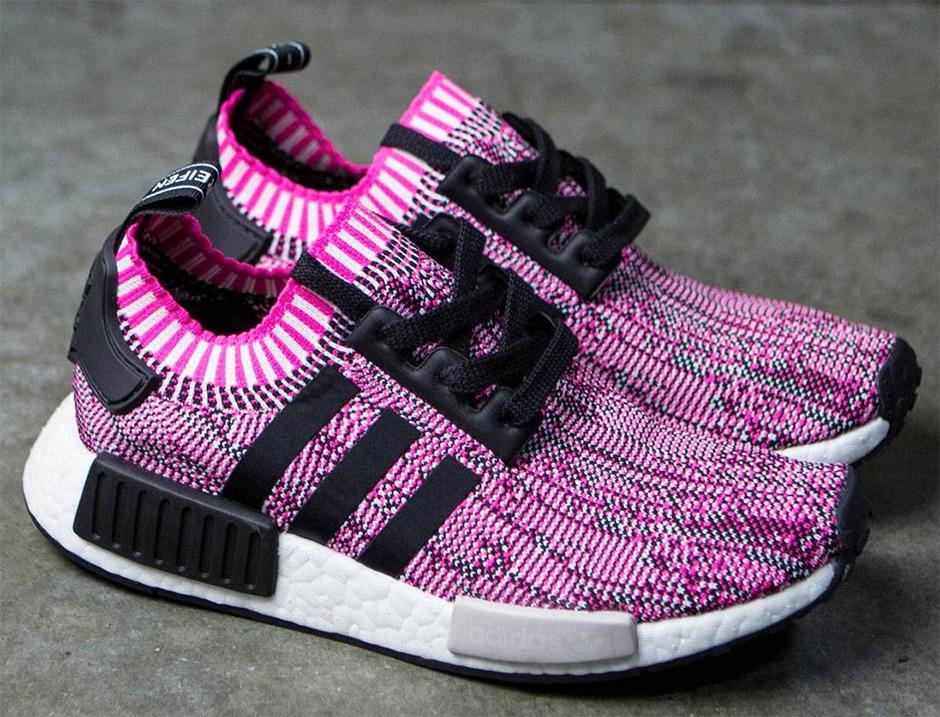 Dámské Adidas NMD R1 W Primeknit v růžové barvě  50bd3595b47