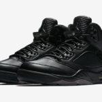 Pro fančmejkry. Air Jordan 5 Retro Premium v černé.