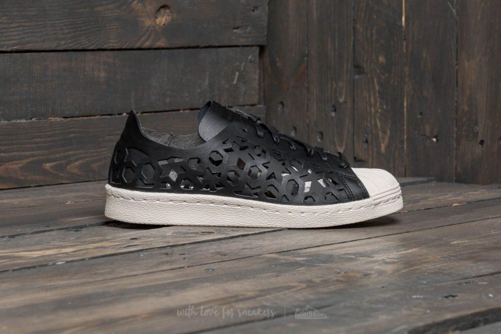 Adidas Superstar 80s Cut Out W Core Black  Core Black  Off White 447adf269e2