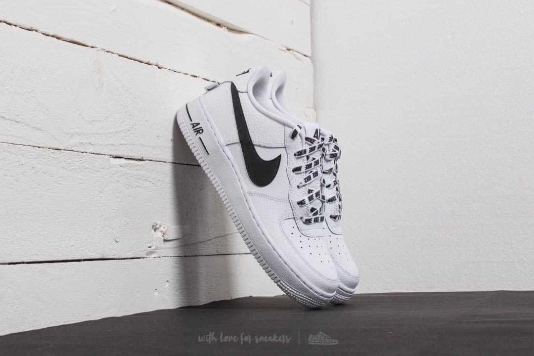 Nike Air Force 1 LV8 (GS) v černé, bílé