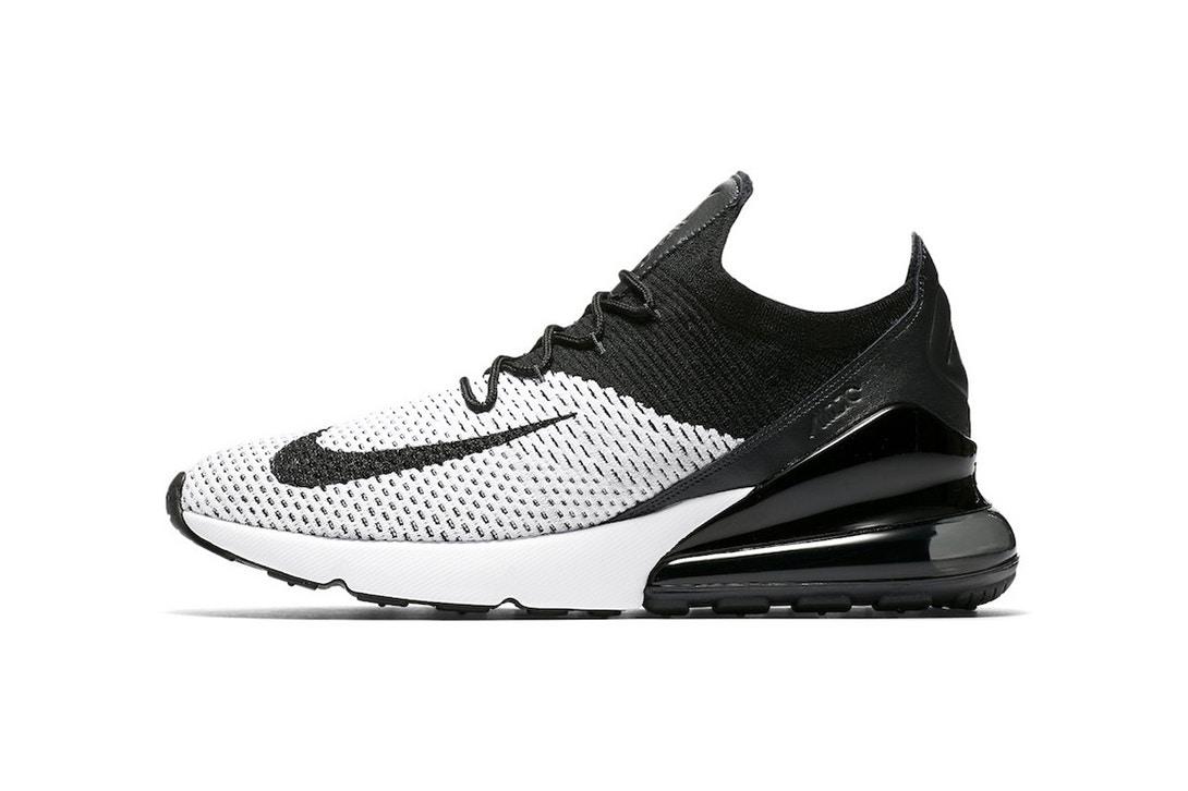 aaea4d07e0e Černá a bílá. Nike Air Max 270 v minimalistické colorway ...