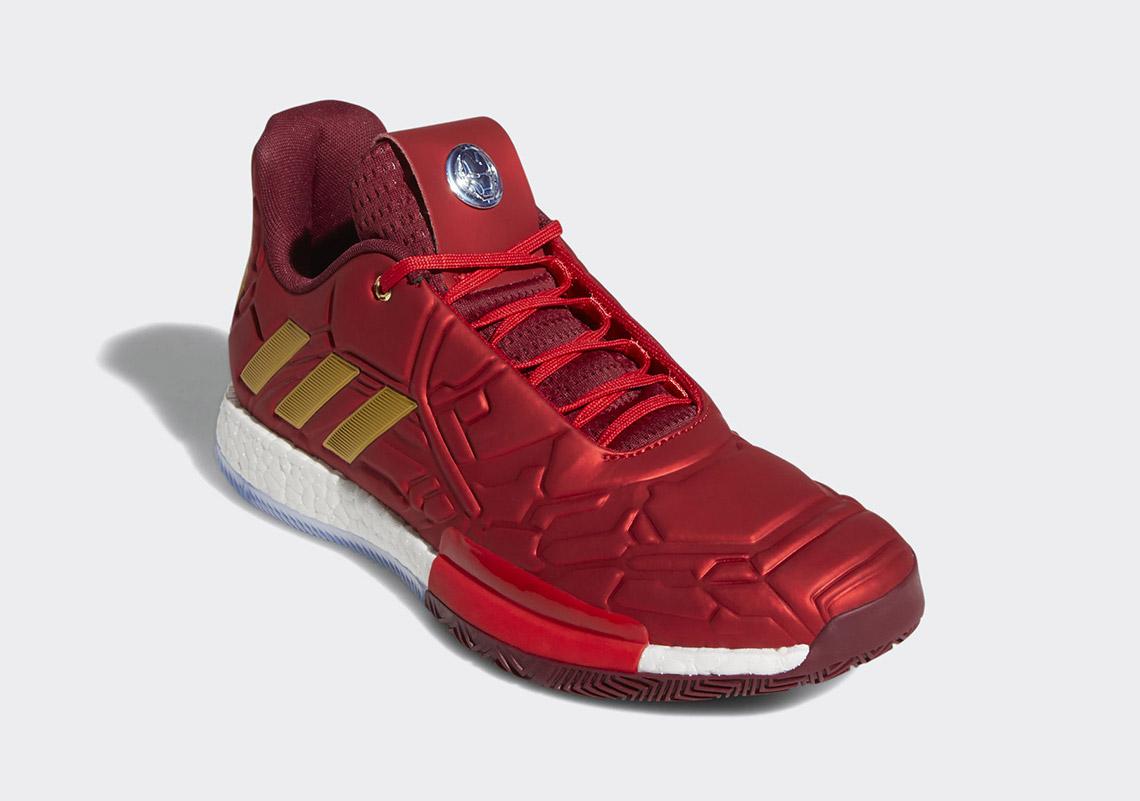 Basket shop.cz adidas Harden Vol. 3 Iron Man, které jsou