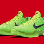 """Značka Nike se rozhodla přivést k životu legendární The Kobe 6 Protro """"Grinch""""!"""